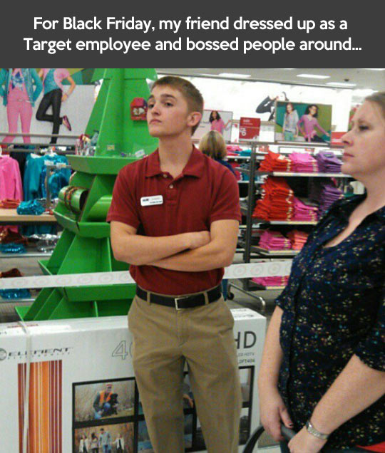 How to mess with desperate shoppers on Black Friday…