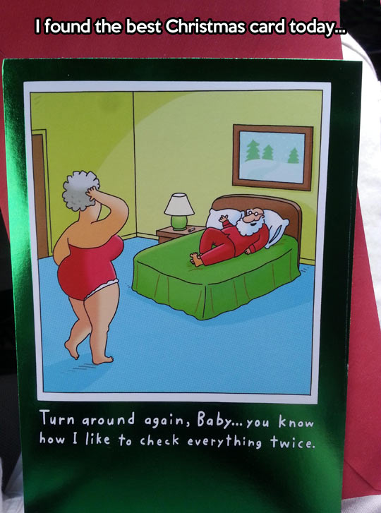 funny-Christmas-Card-Santa-bed