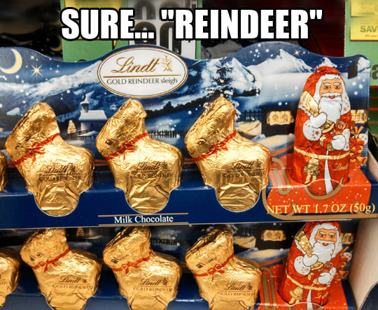 Easter and Christmas are joining forces…