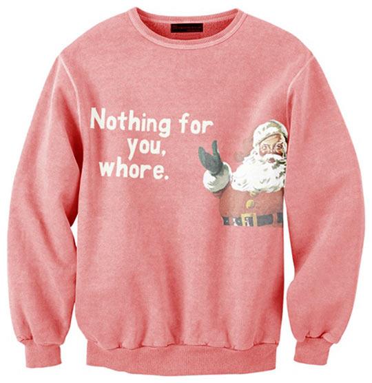 funny-Christmas-sweater-pink-Santa