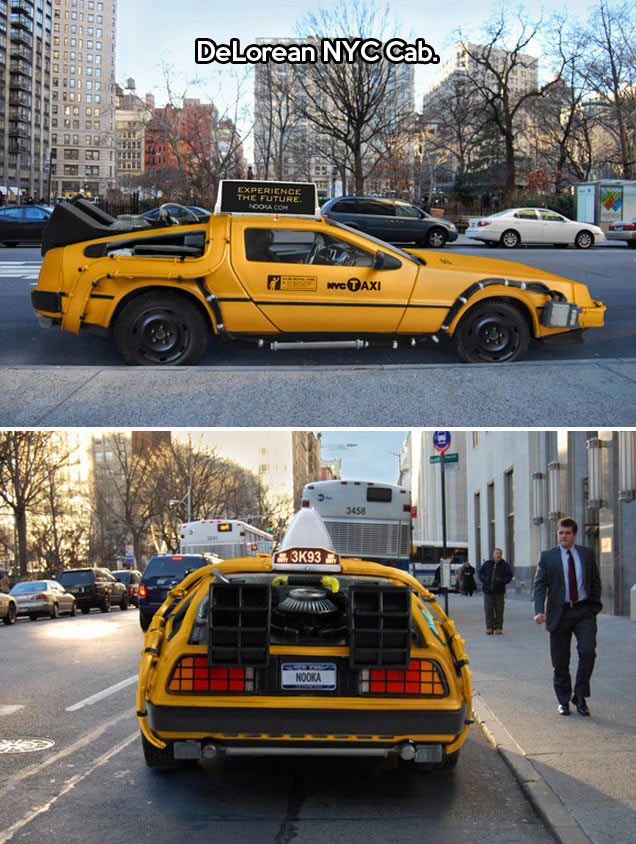 The best taxi in NYC…