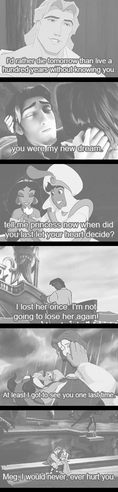 Romantic Disney Couples...