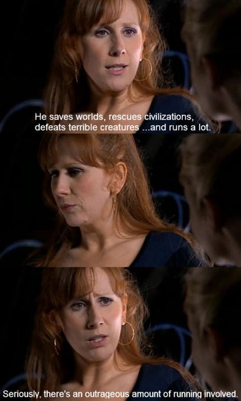 funny-Donna-Noble-Doctor-Who-running