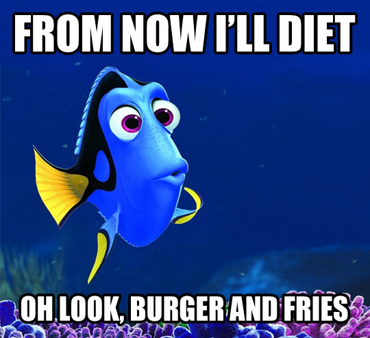 Why I can't diet…