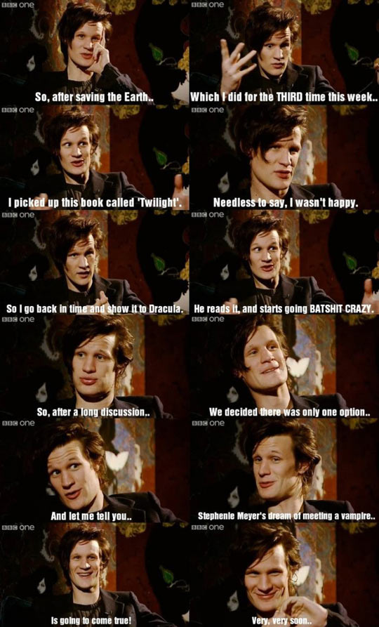 Doctor Who being awesome…