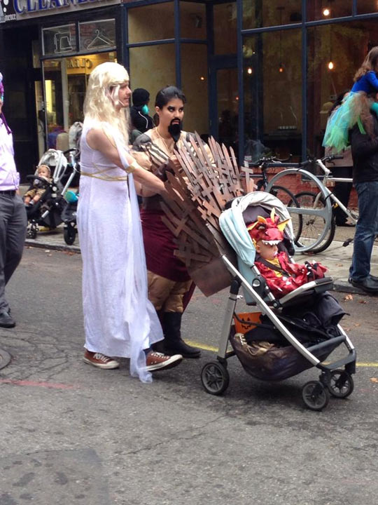 The Iron Stroller…