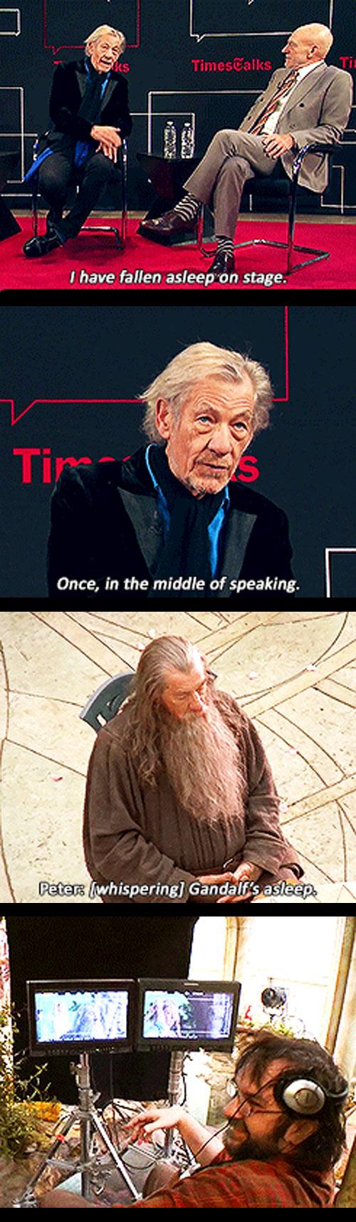 Gandalf the Sleepy...