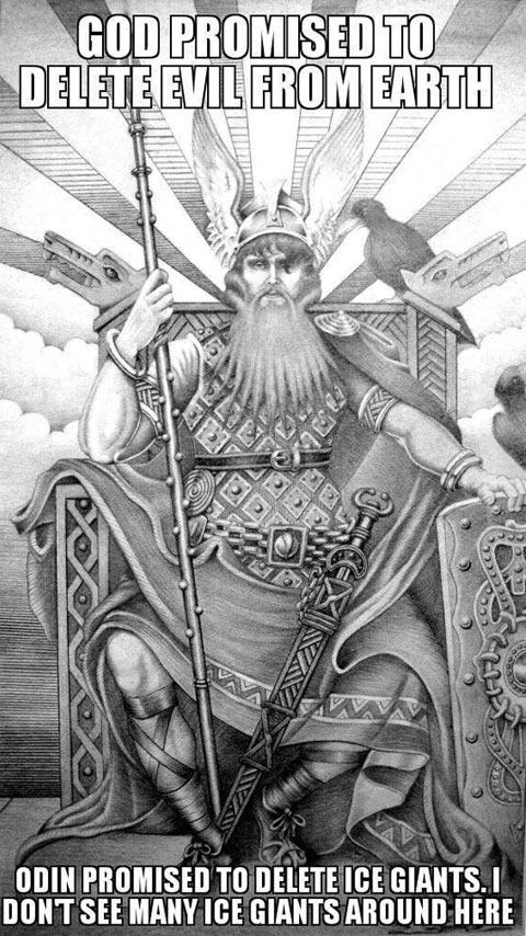 Nice job Odin…