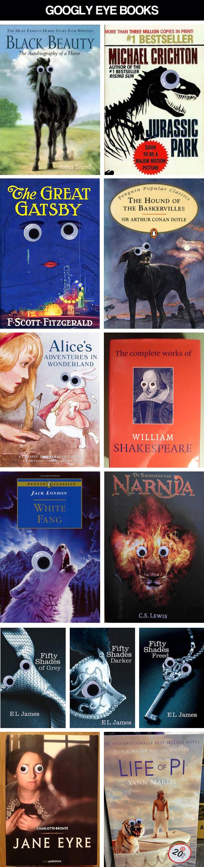 Googly Eye Books…