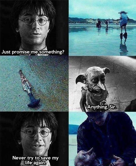 Dobby feels…
