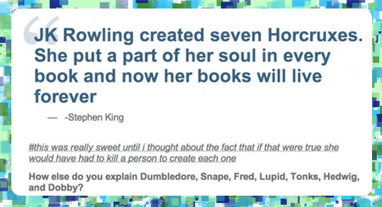 JK Rowling And Her 7 Horcruxes…