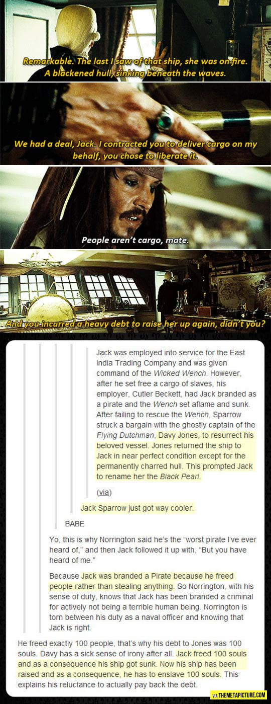 Why I loved Jack Sparrow…