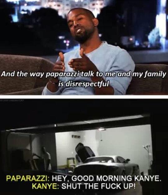 I see Kanye, I see…
