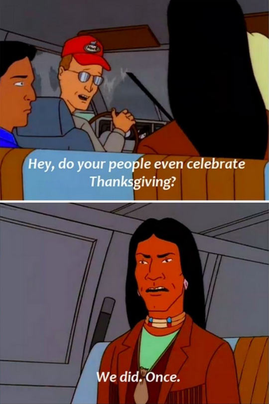 Thanksgiving celebration…