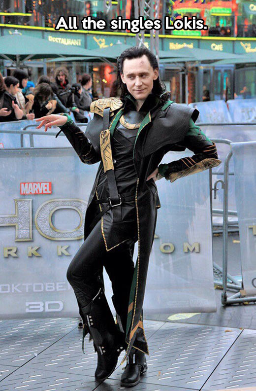 Loki is in his best moment…