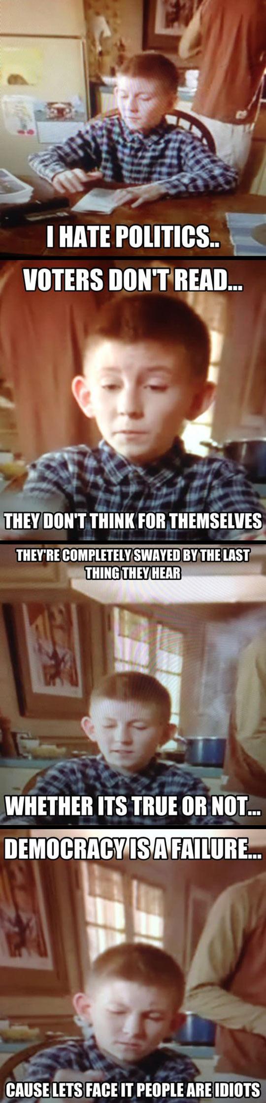 Dewey should be president…