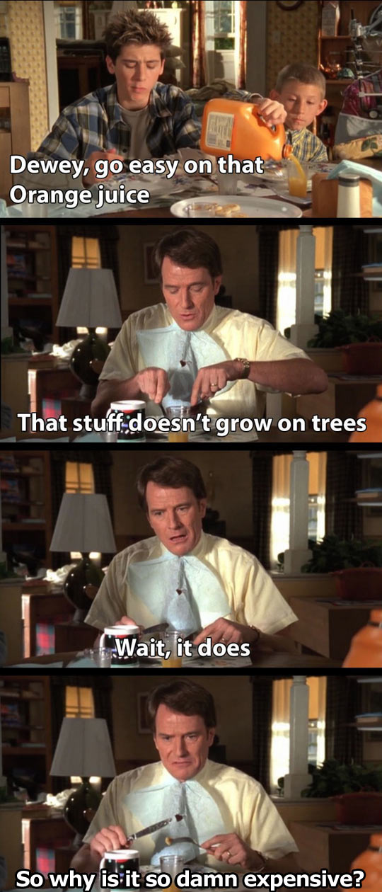 It doesn't grow on trees…