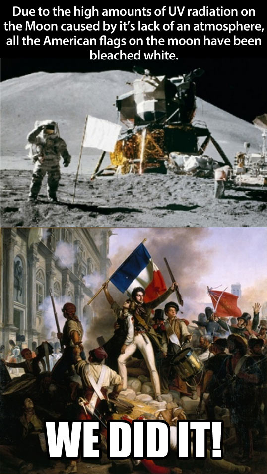 Those crafty French…