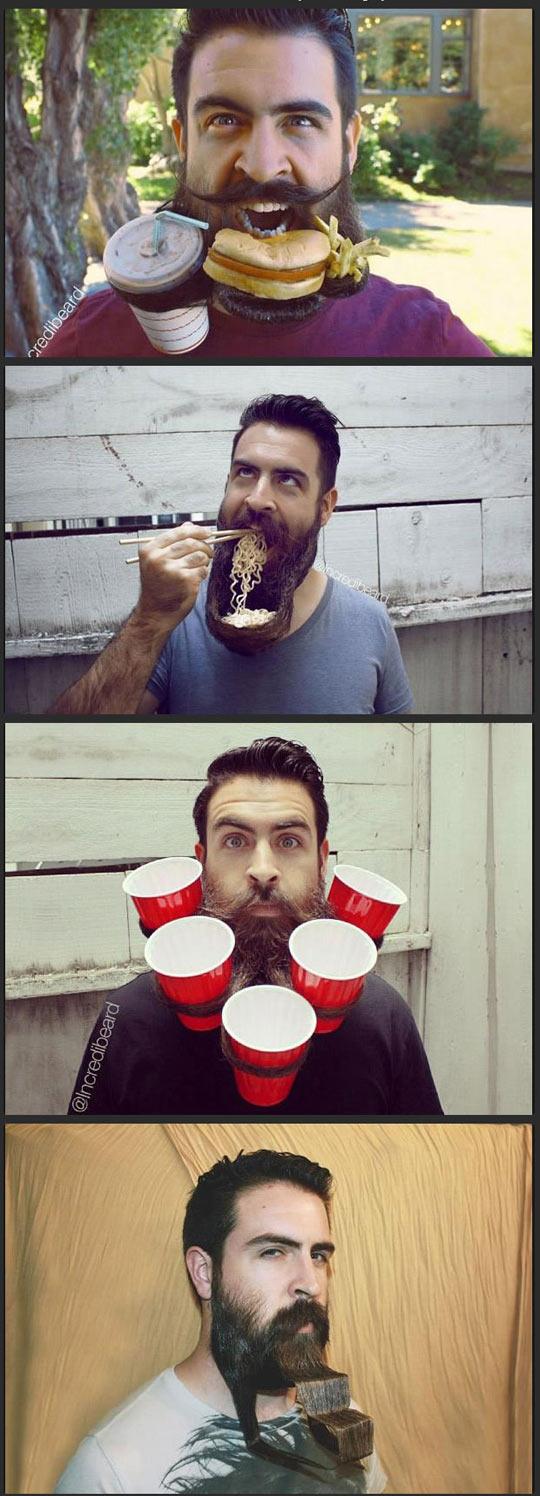Crazy beard guy