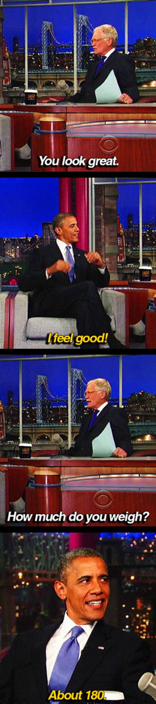 Obama TV interview
