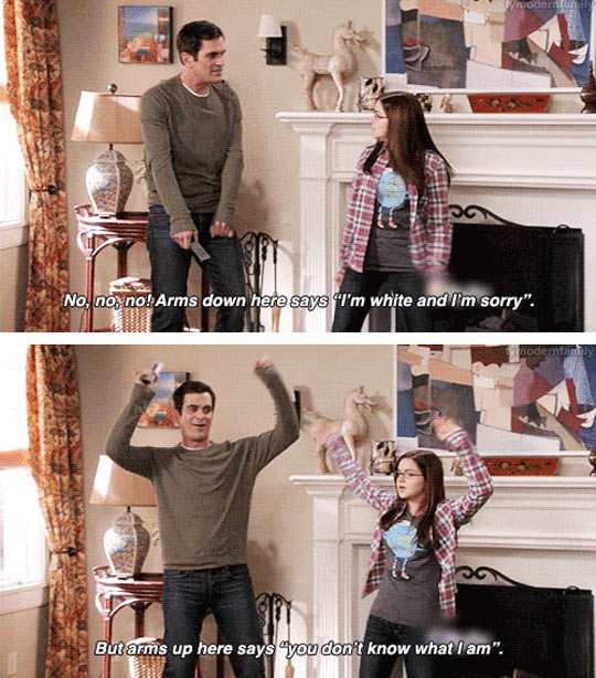 Dance moves by Phil Dunphy…