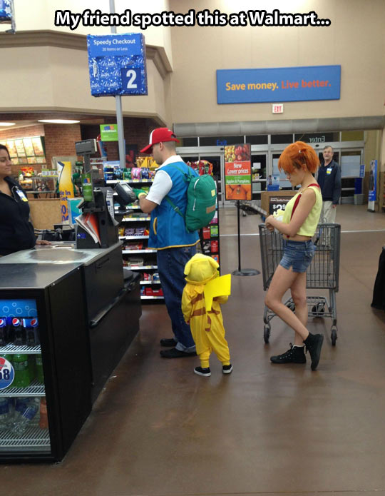 you can find everything at walmart