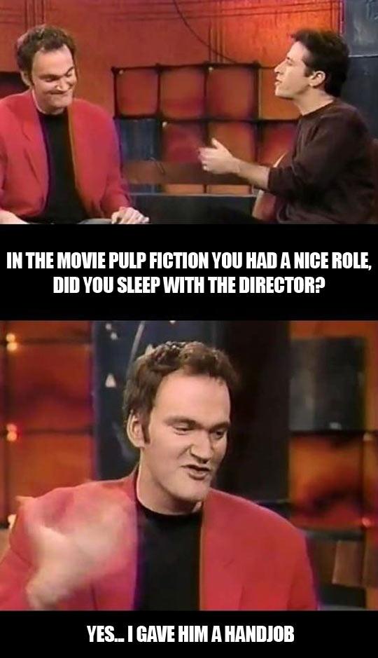 How Tarantino got his role…