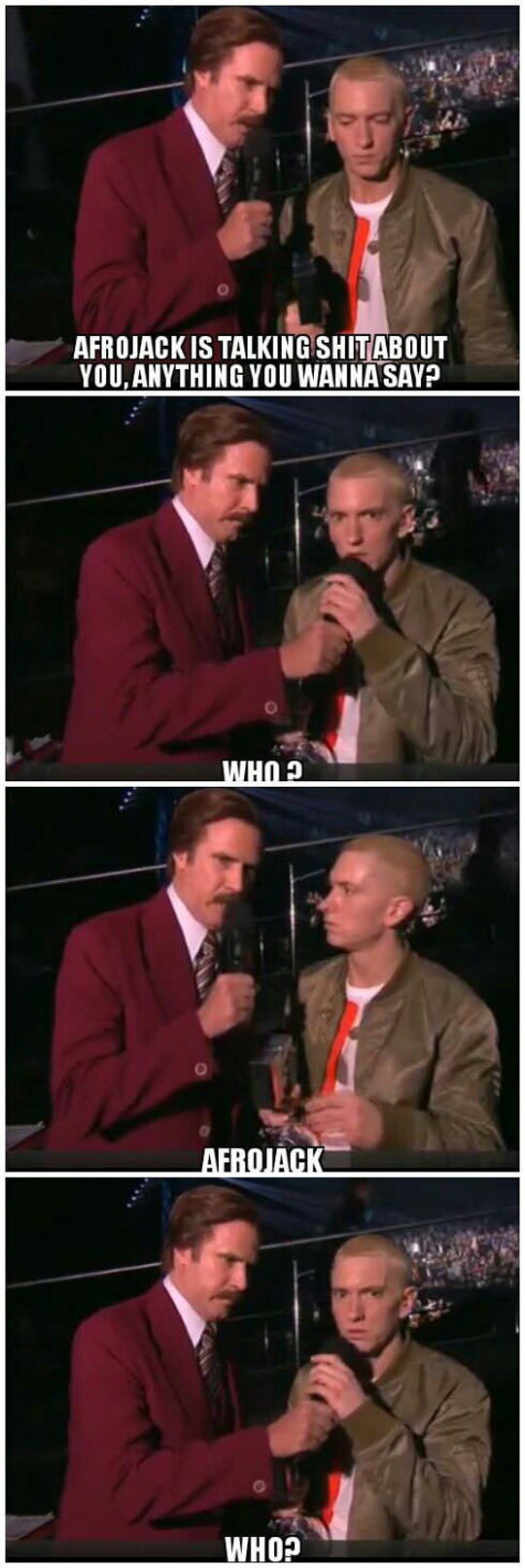 Eminem at his best…