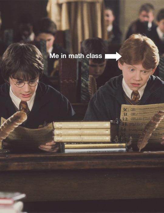 New subject in math class…