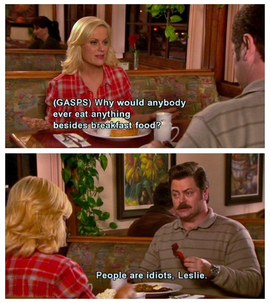 funny-Ron-Swanson-breakfast-food