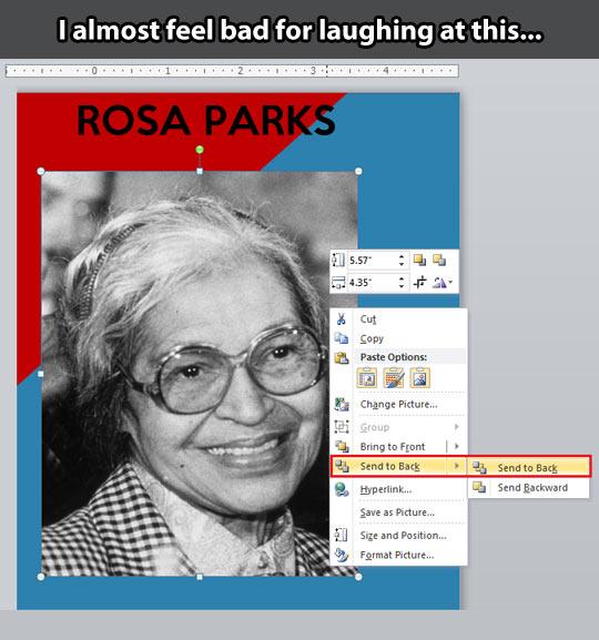 funny-Rosa-Parks-Word-option-send-back