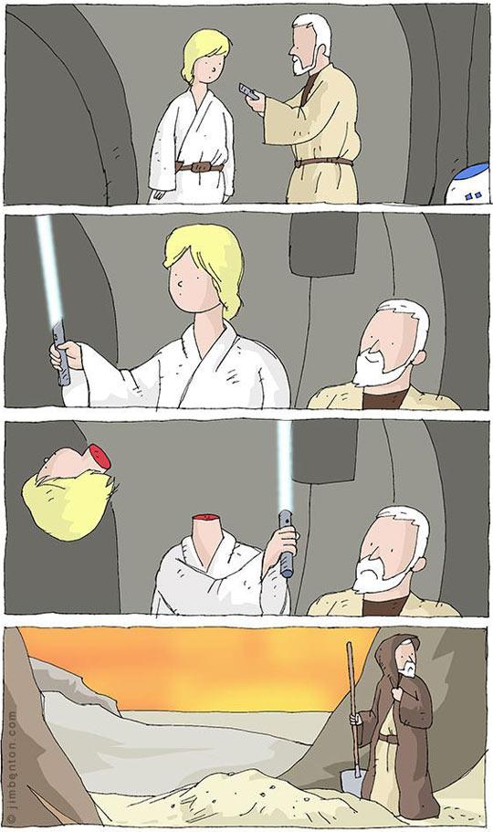 Star Wars Episode IV: A new…never mind.