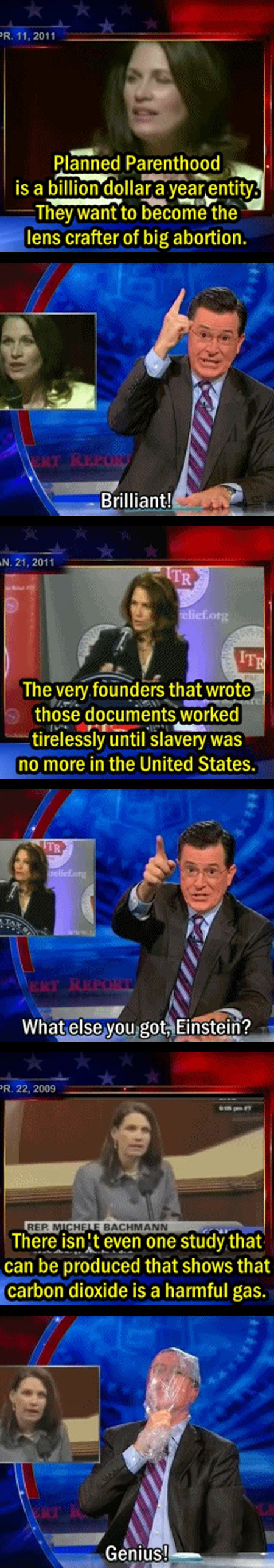 funny-Stephen-Colbert-Michele-Bachman-Obamacare