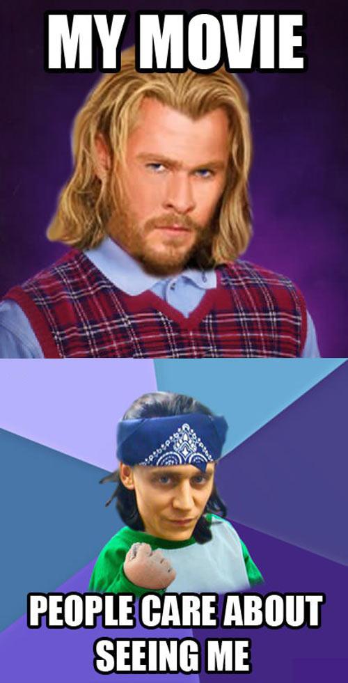 Bad Luck Thor…