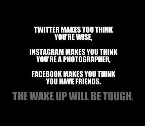 Wake up will be hard…