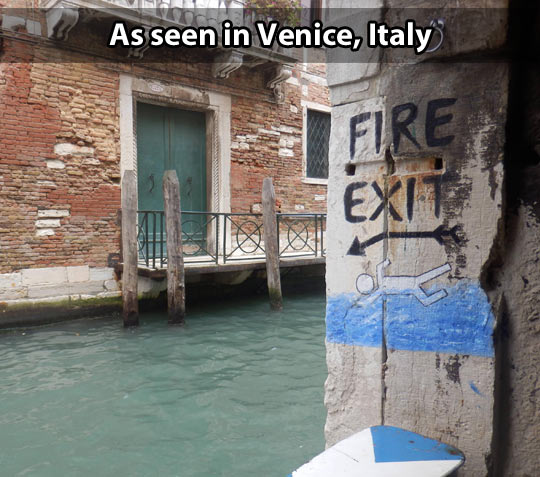 Meanwhile in Venice…