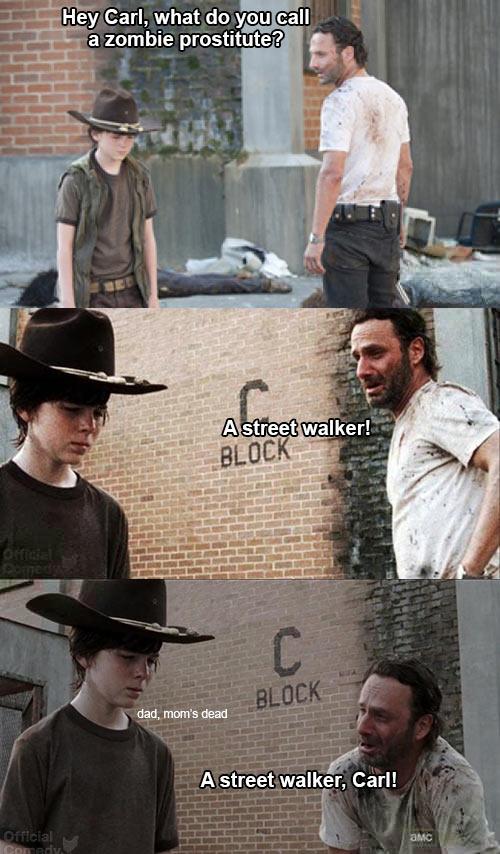 Street walker…