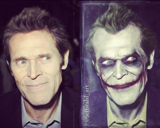 funny-Willem-Dafoe-Joker-makeup