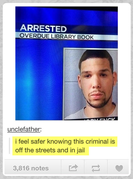 funny-arrested-man-overdue-library