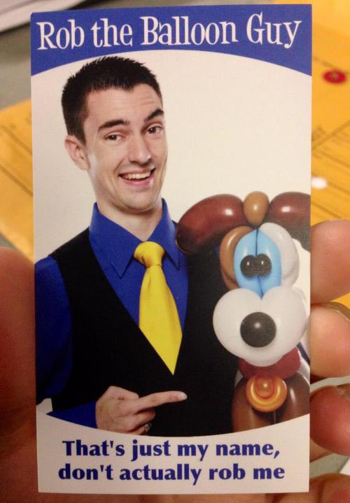 Best business card ever…