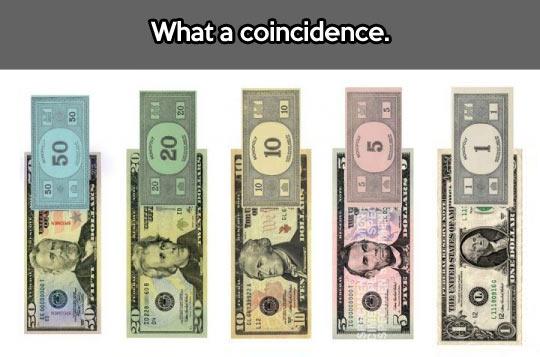 Play money…