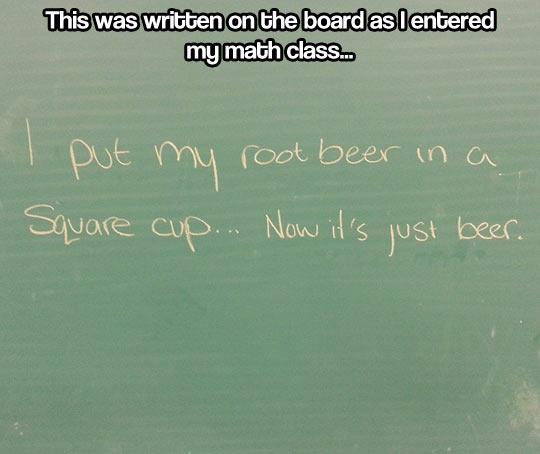 Beer math…