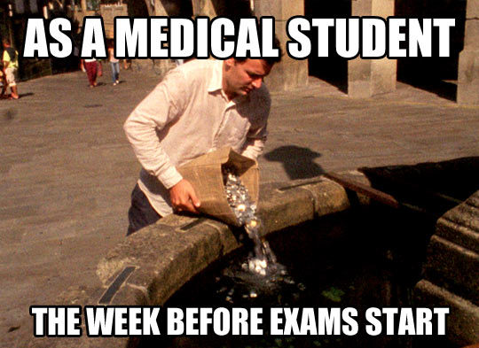 Funny Medical School Meme : A little help is never enough…