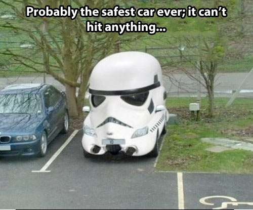 Safest car ever…