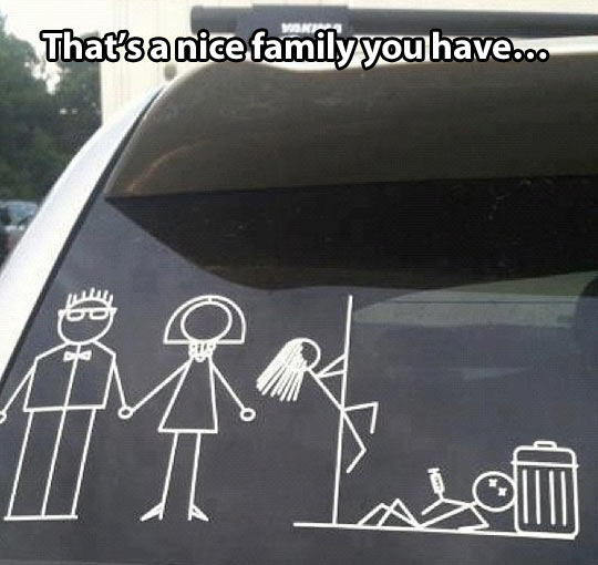 Typical family problems…