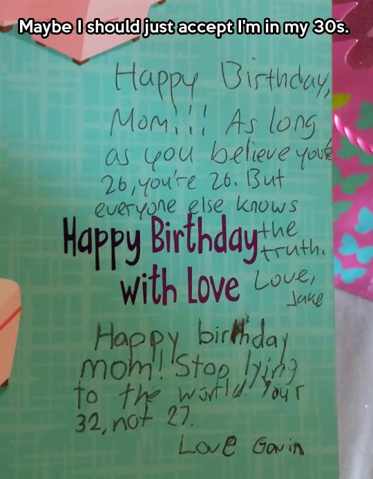 Happy birthday with love…