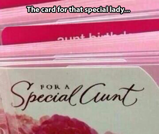An unfortunate font choice…
