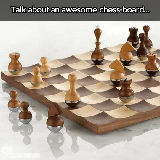 Incredible chessboard…