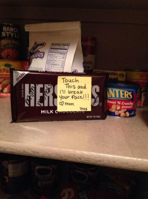 funny-chocolate-PMS-kitchen-note