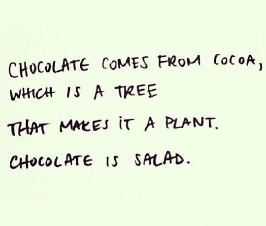 funny-chocolate-tree-plant-salad